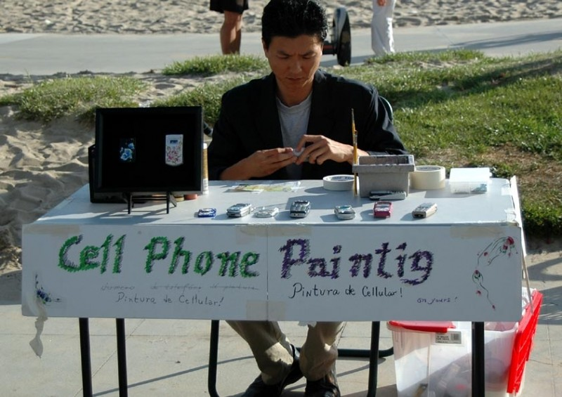Cell Phone Paintig