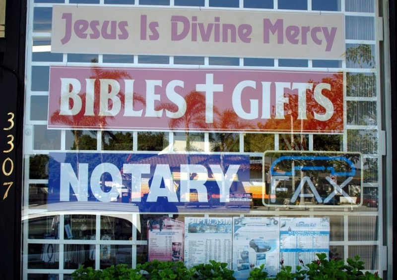Jesus Is Divine Mercy - Bibles, Gifts, Notary, Fax