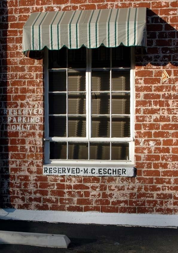Reserved - M. C. Escher