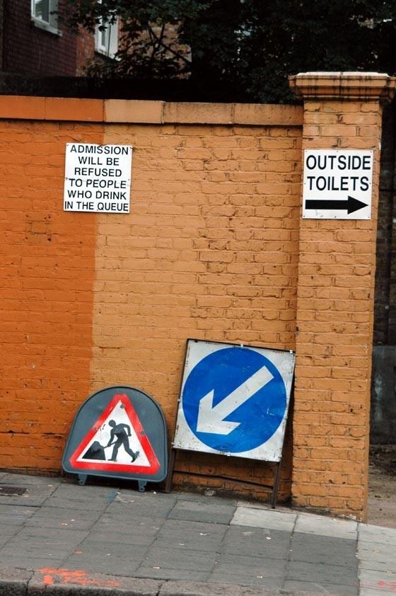 Outside Toilets