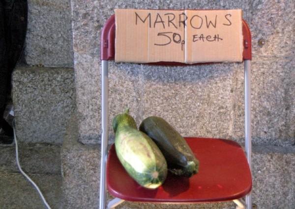 Marrows 50p each