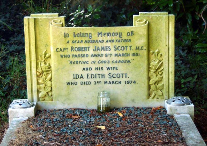 Captain Robert James Scott M.C.