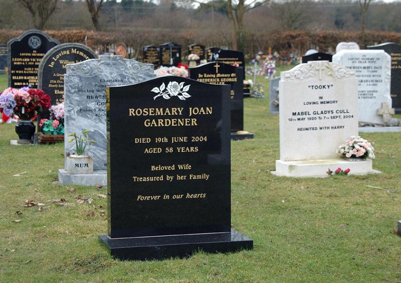 Rosemary Joan Gardener