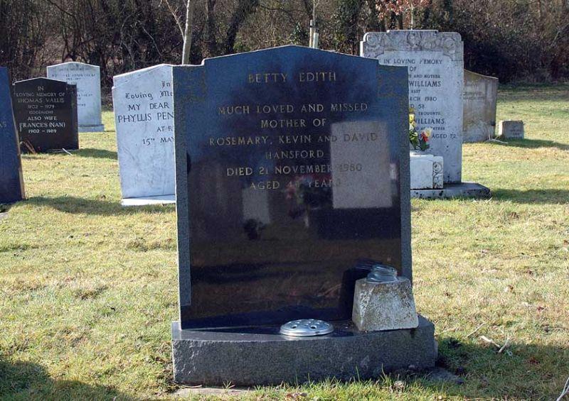 Betty Edith Hansford