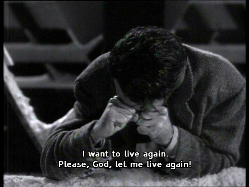 I want to live again...