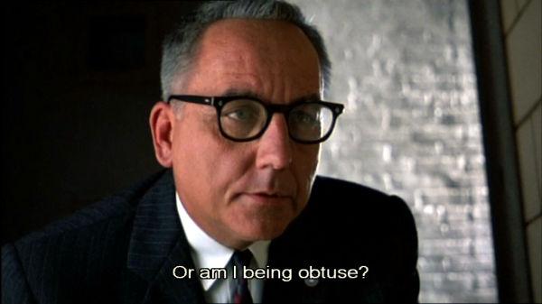 Or am I being obtuse?