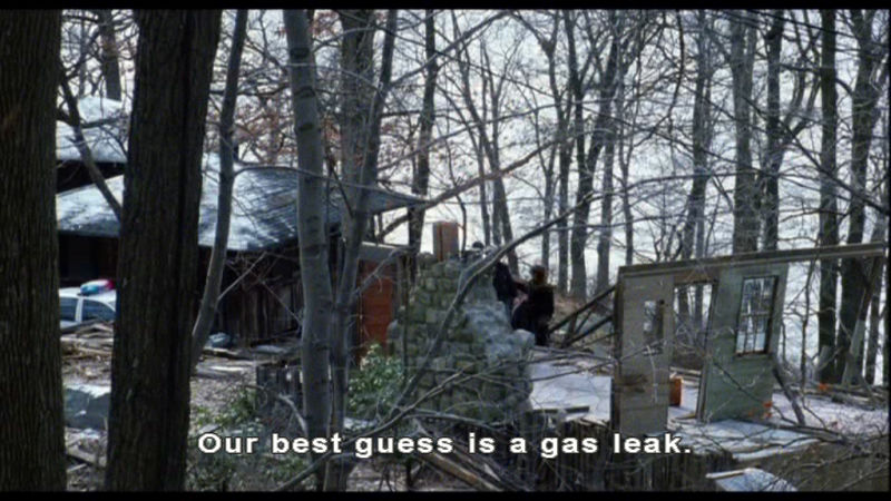 Our best guess is a gas leak
