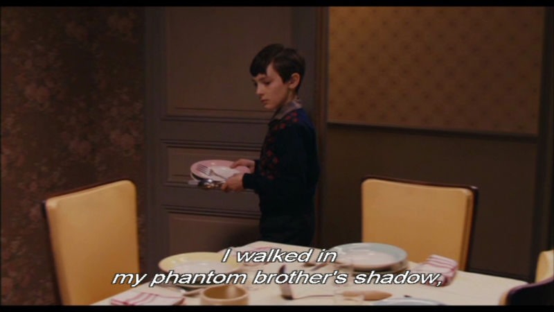 I walked in my phantom brother's shadow
