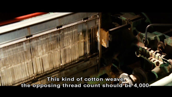 This kind of cotton weave...