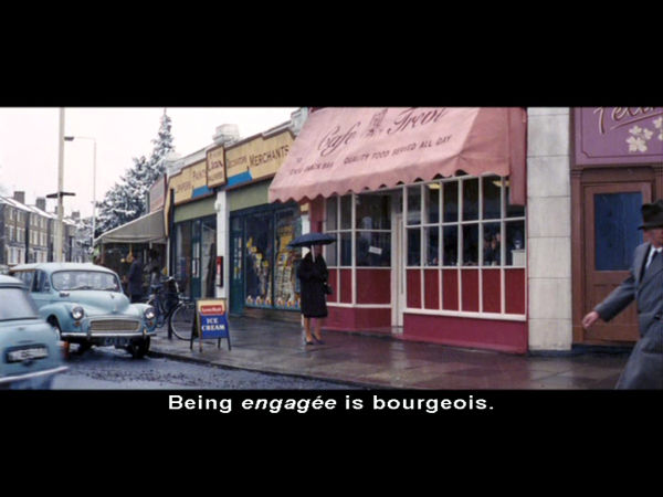 Being engagée is bourgeois