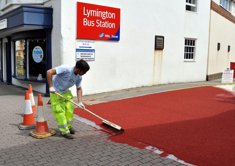 Lymington Bus Station