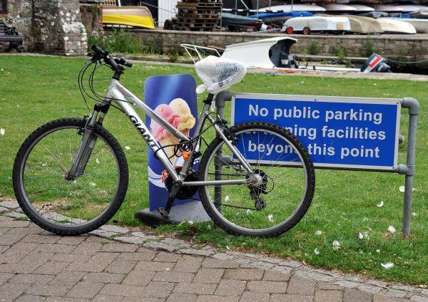 No Public Parking