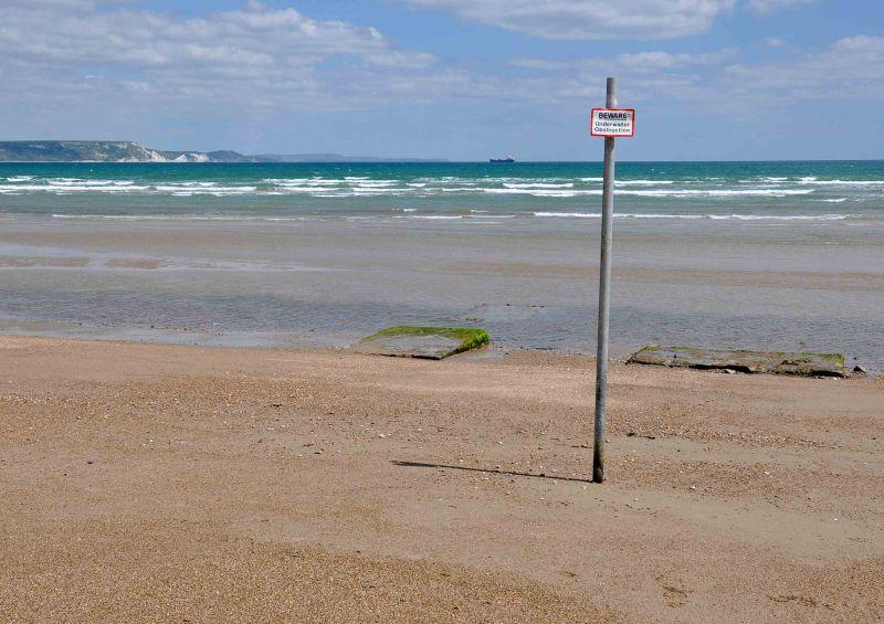 Beware Underwater Obstruction