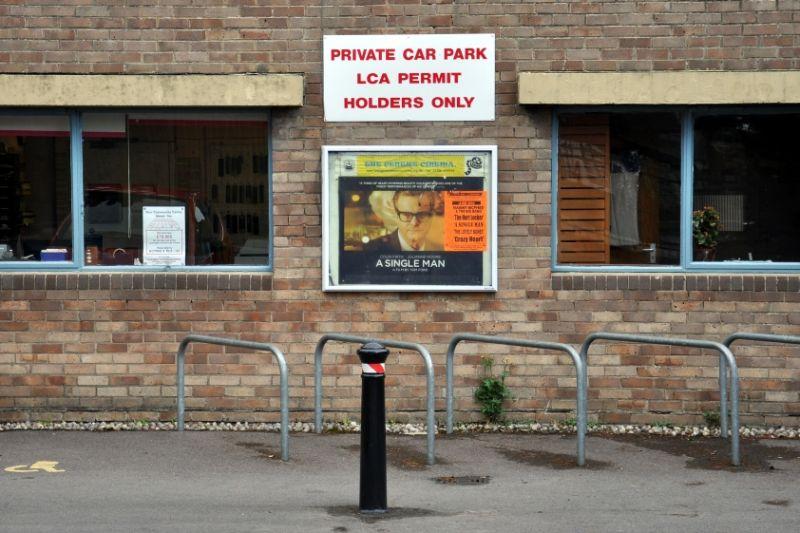 Private Car Park - A Single Man