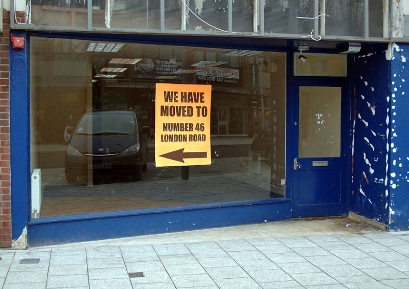 We Have Moved To Number 46 London Road