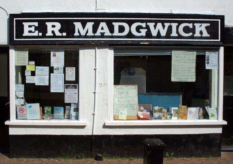 E. R. Madgwick - Final Closing Date
