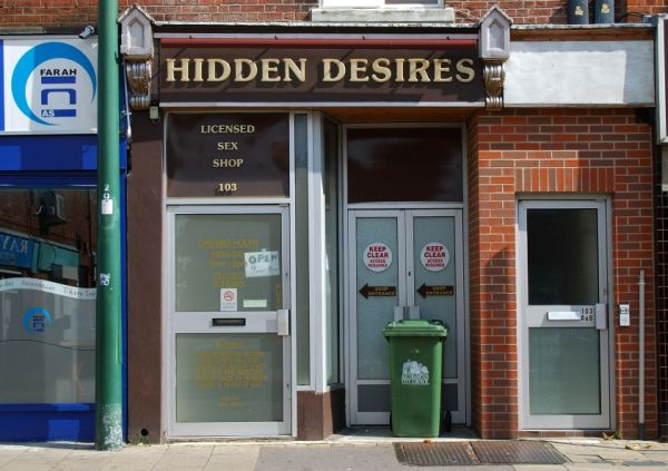 Hidden Desires Licensed Sex Shop 103