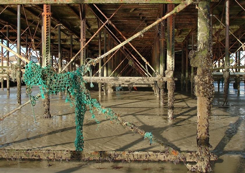 Under Bognor Pier