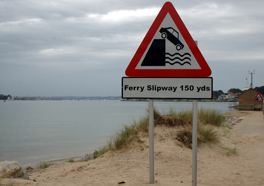 Ferry Slipway 150 yds