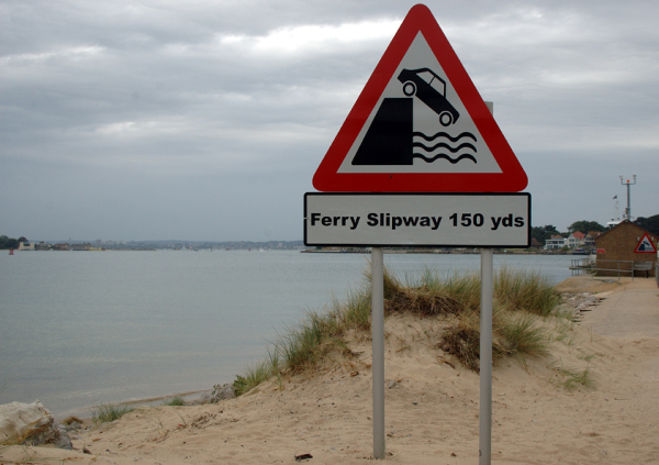 Ferry Slipway 150 yds