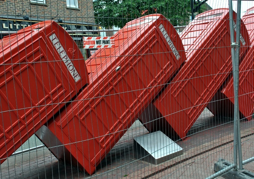 Painted Telephone Boxes
