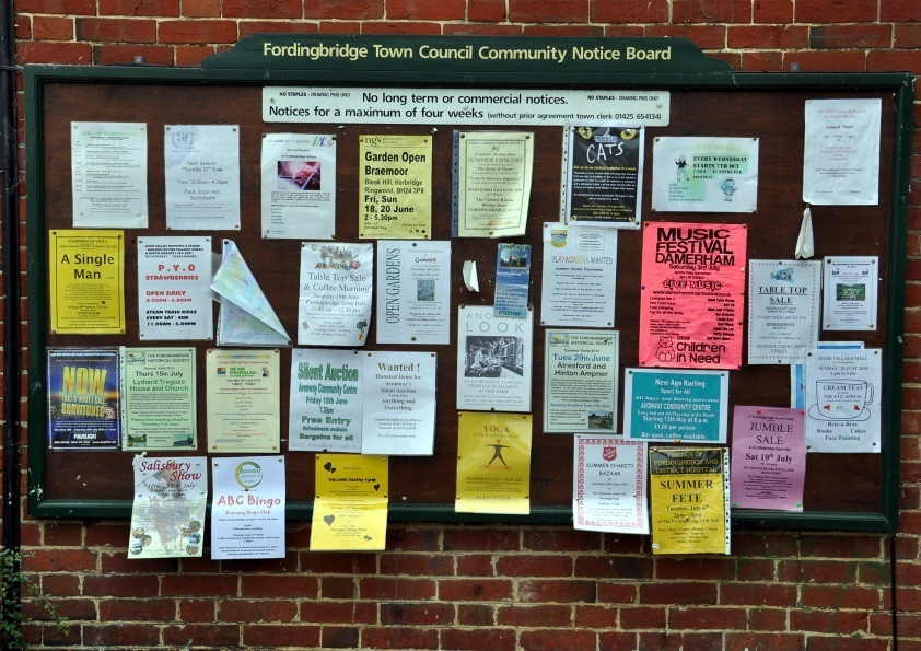 Fordingbridge Town Council Community Notice Board