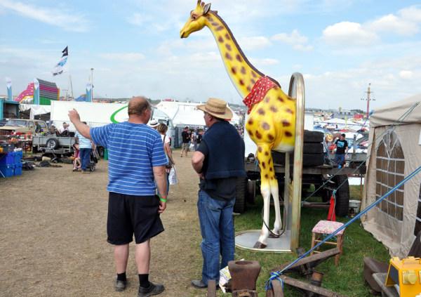 An Englishman, An Irishman & A Giraffe...
