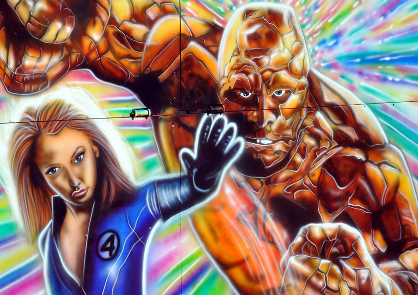 Invisible Woman & The Thing