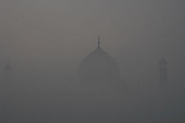 Taj through the fog