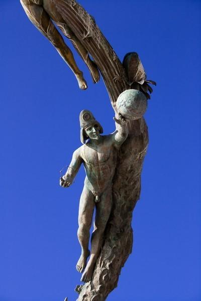 statue in Vallarta