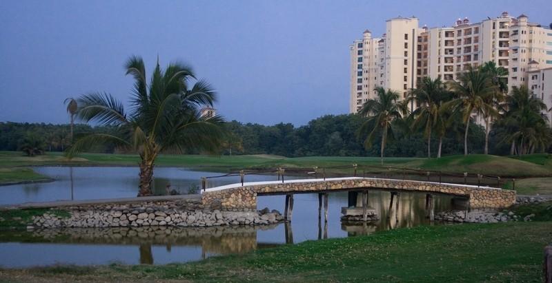 the golf course in marina vallarta