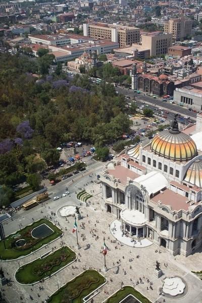 Bellas artes in mexico city