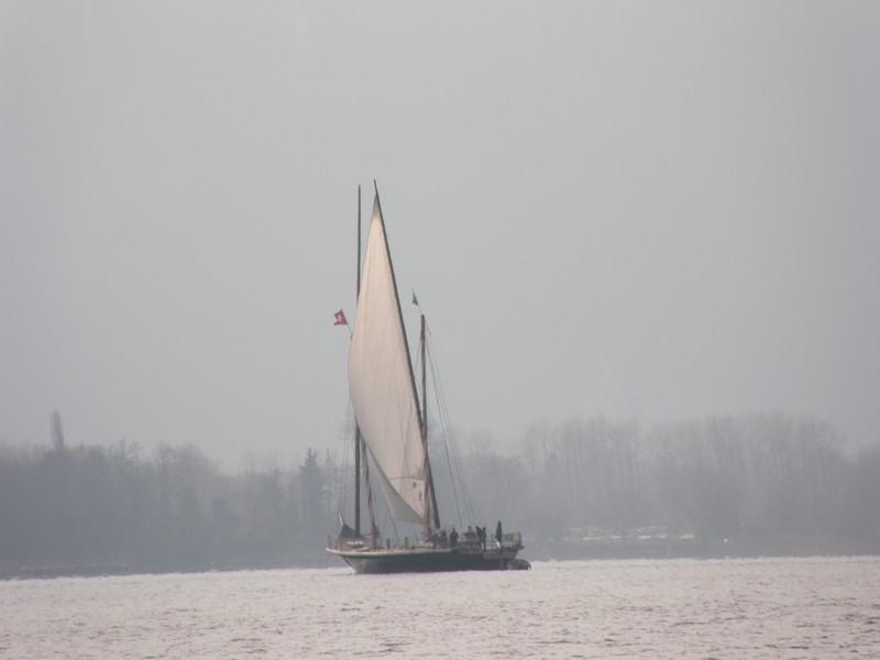 Barque sur le lac Léman