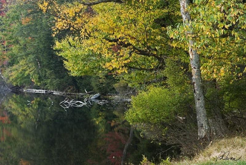 Evening on Cascade Lake, Adirondacks, NY
