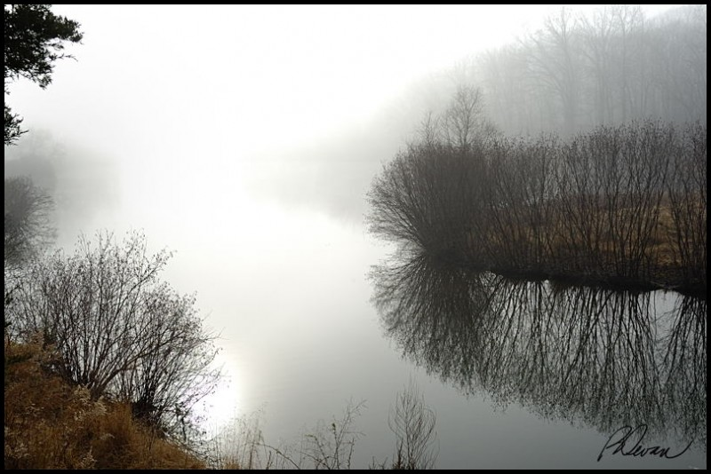 Fog Over Deep Creek Lake