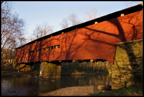 Sheeder-Hall Covered Bridge over French Creek