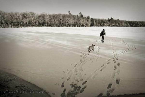 Exploring Bruce Lake