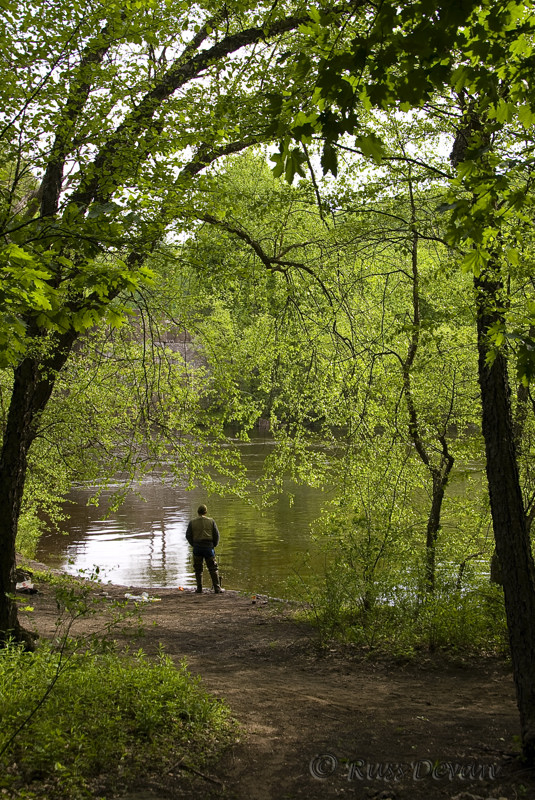 Fisherman, Lehigh River