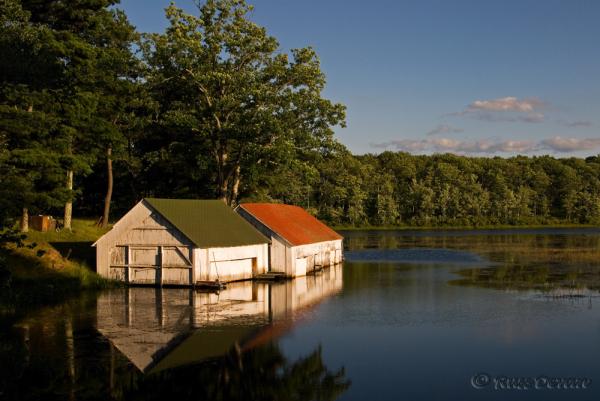 Boat Houses on Porter Lake