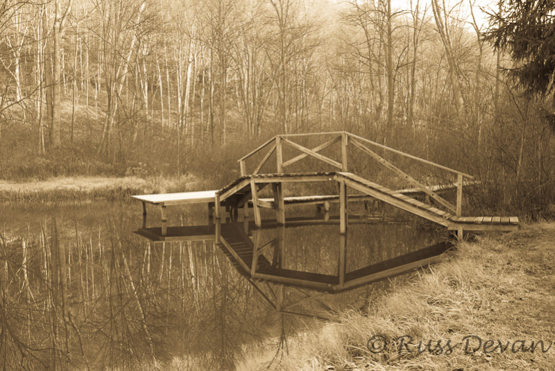 Fishing Dock, Hawk Mountain 2