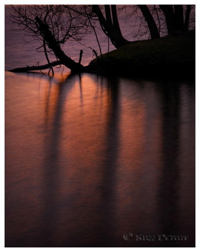 Dawn Reflections, Hopewell Lake