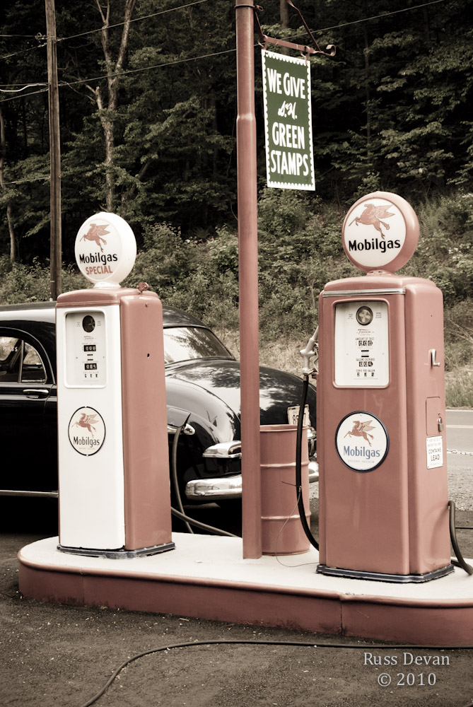 Retro Gas Station III
