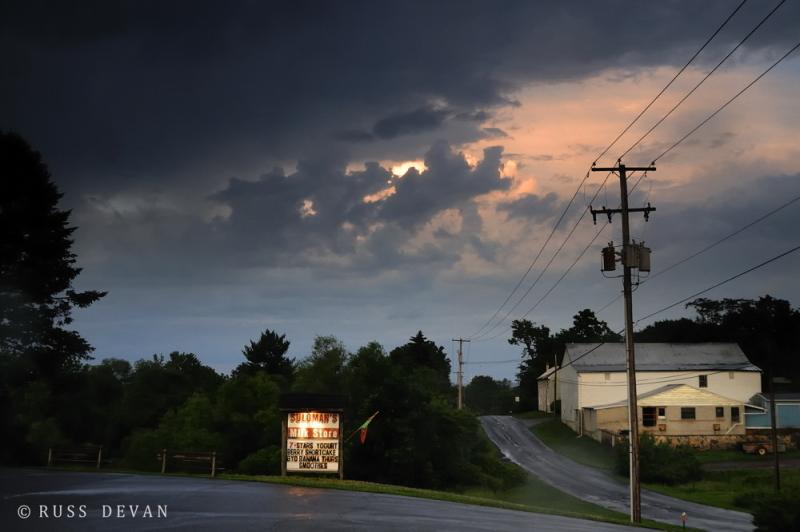 Storm Over Suloman's Farm
