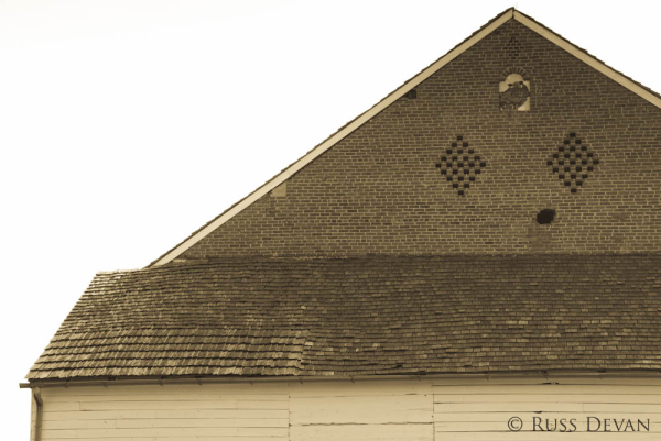 Cannon Ball Hole, Trostle Barn