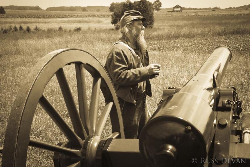 Confederate Gunner