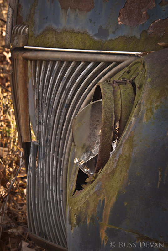 Grill Detail, 1941 Ford Panel Truck