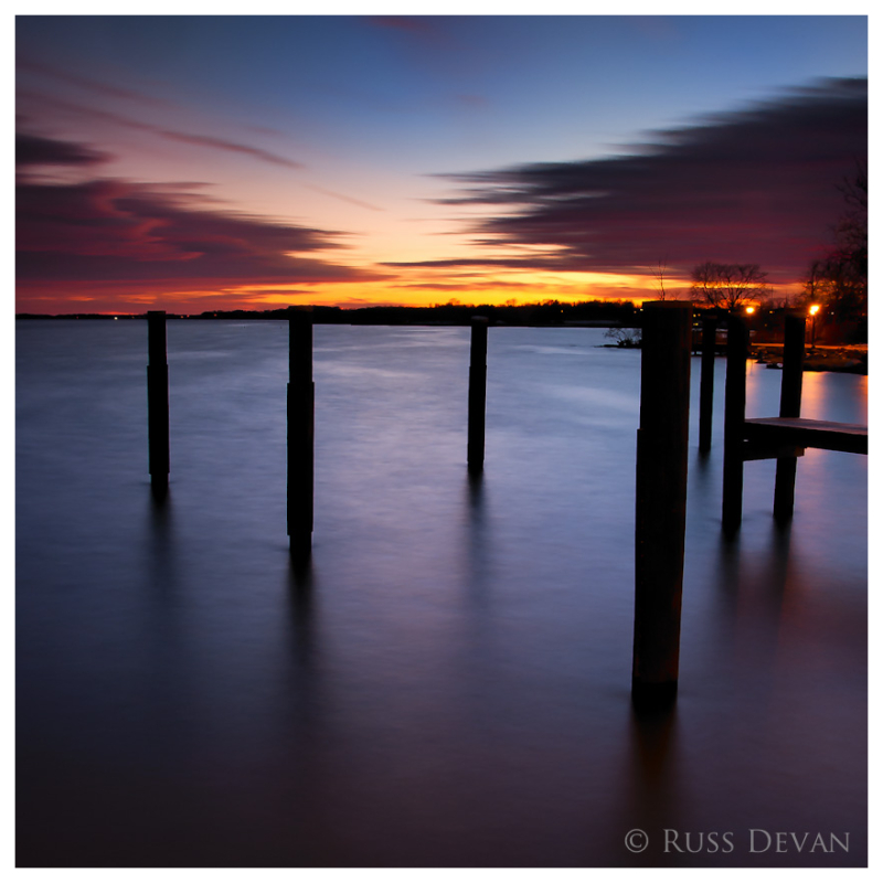Last Light Over The Bay