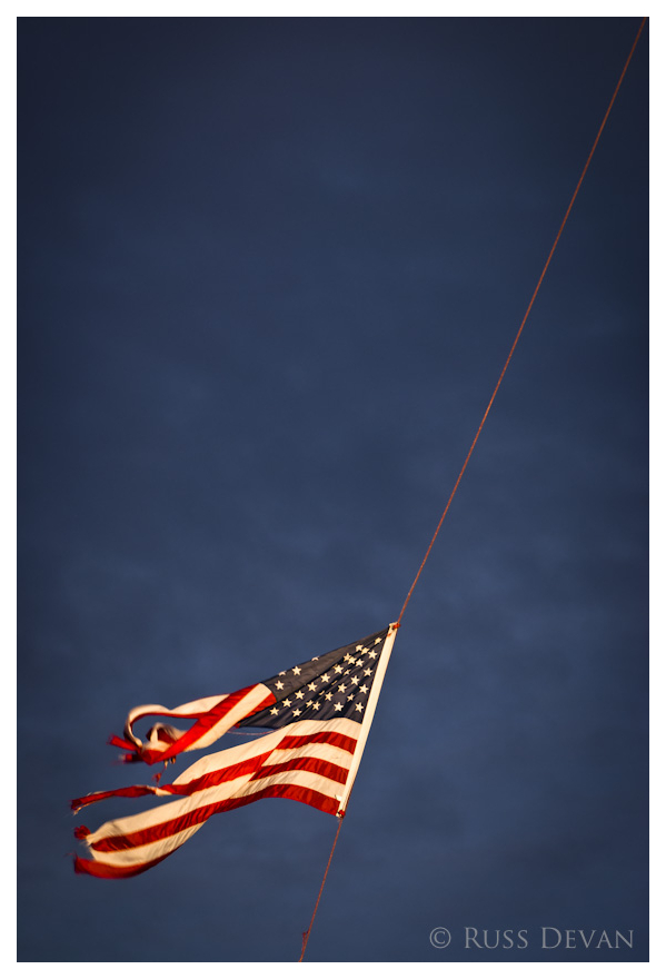 Flying Old Glory