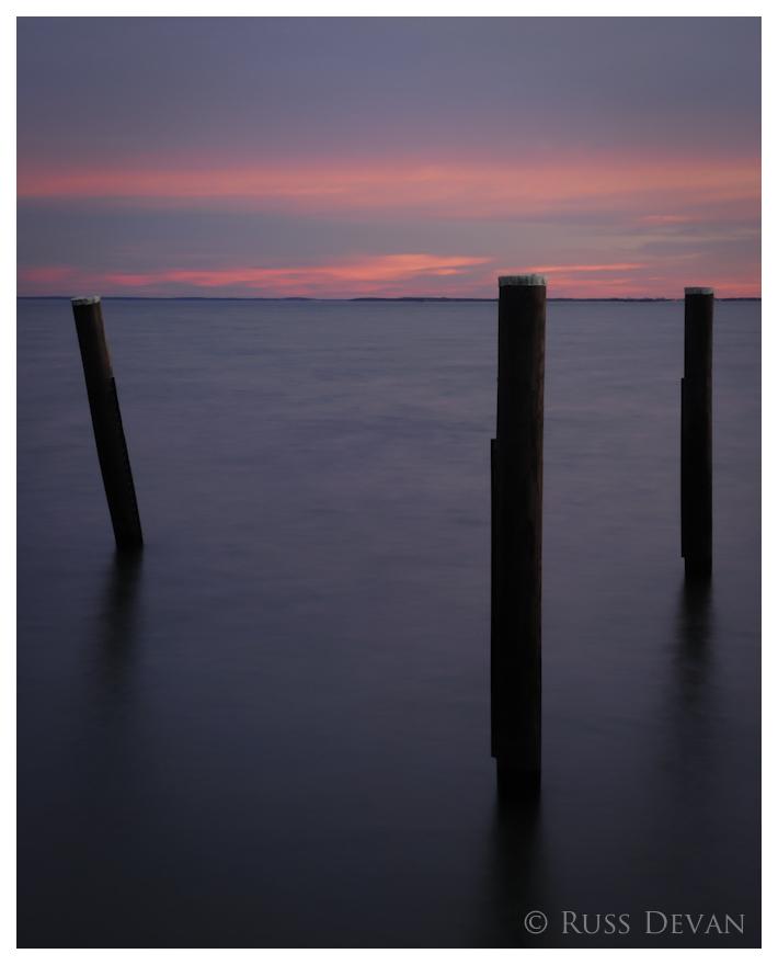 Three Posts Sunset