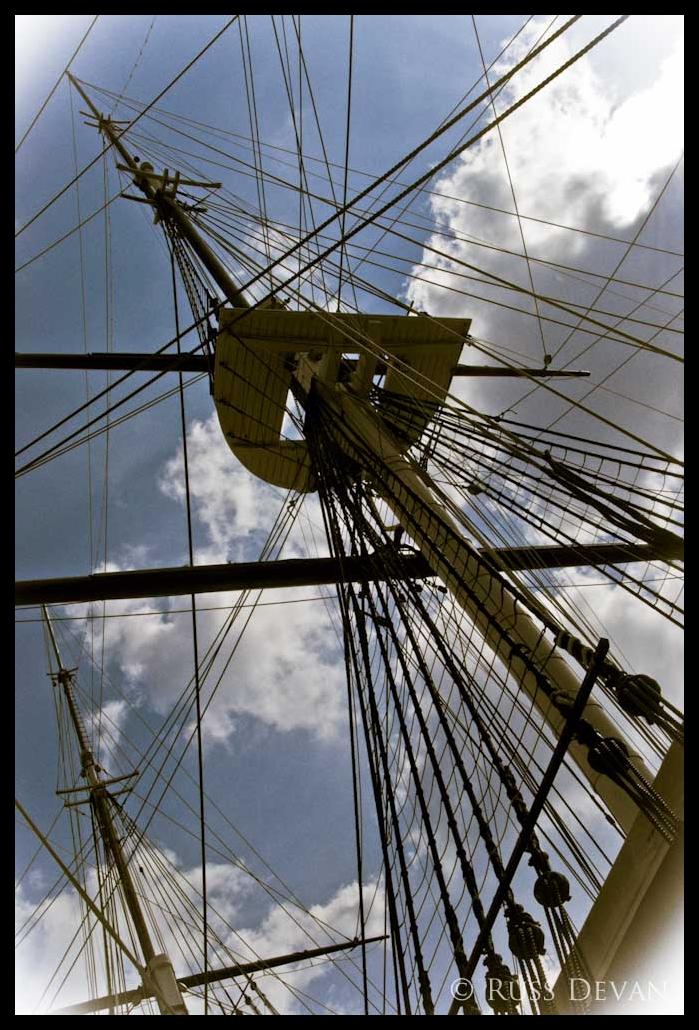 Main Mast, USS Constellation